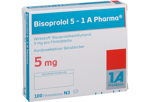Packung Bisoprolol 5mg