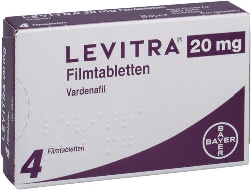 Levitra bayer 20 mg