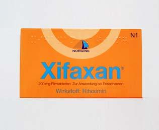 Xifaxan - Antibiotikum gegen Reisedurchfall online kaufen