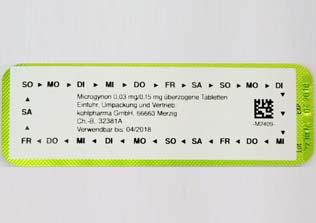 Microgynon Antibabypille - Pille mit Rezept | DrEd
