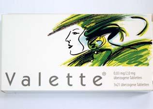 Valette - die Antibabypille online bestellen | DrEd