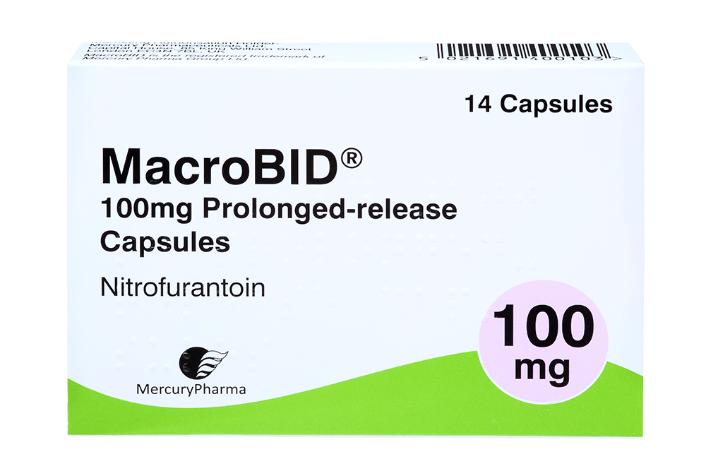 Nitrofurantoin Monohydrate Macrocrystals Capsules