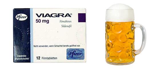 Viagra po alkoholu