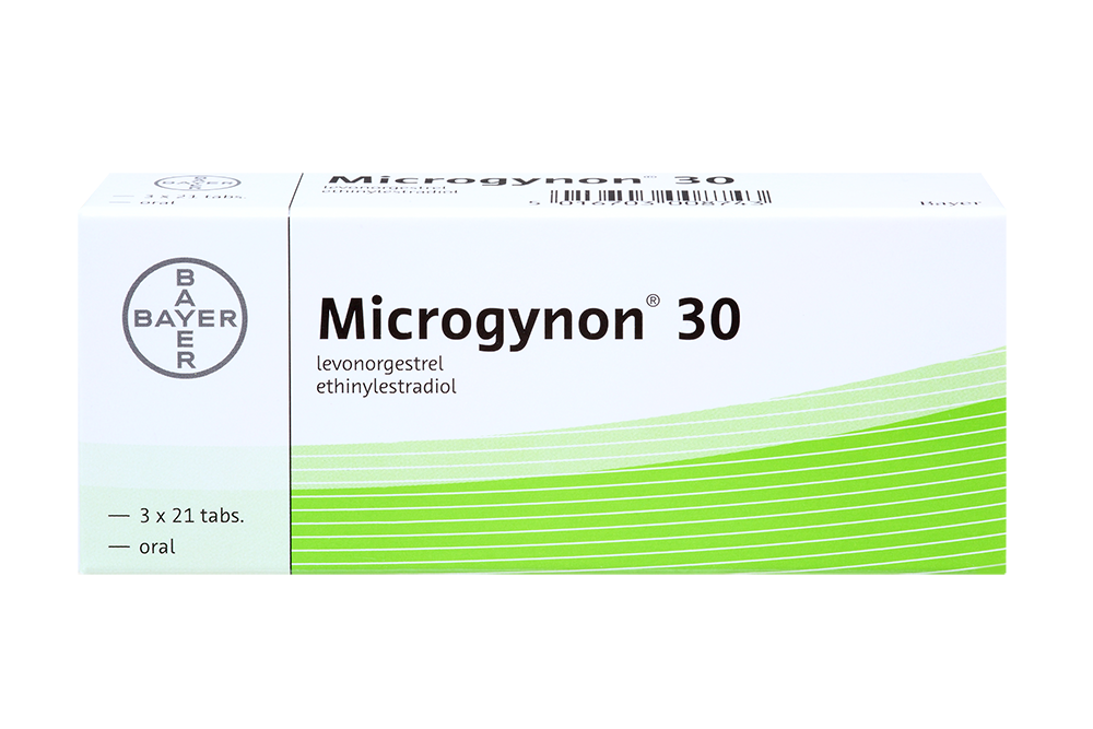 3 months pack of Microgynon 30